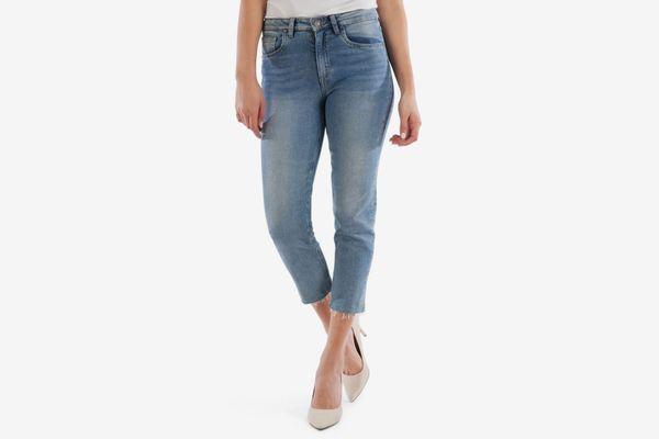 Kut from the Kloth Rachael Raw Hem Mom Jeans