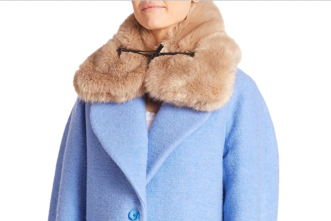 Carven Faux-Fur Collar