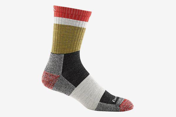Darn ToughHeady Stripe Micro Crew Light Cushion Sock