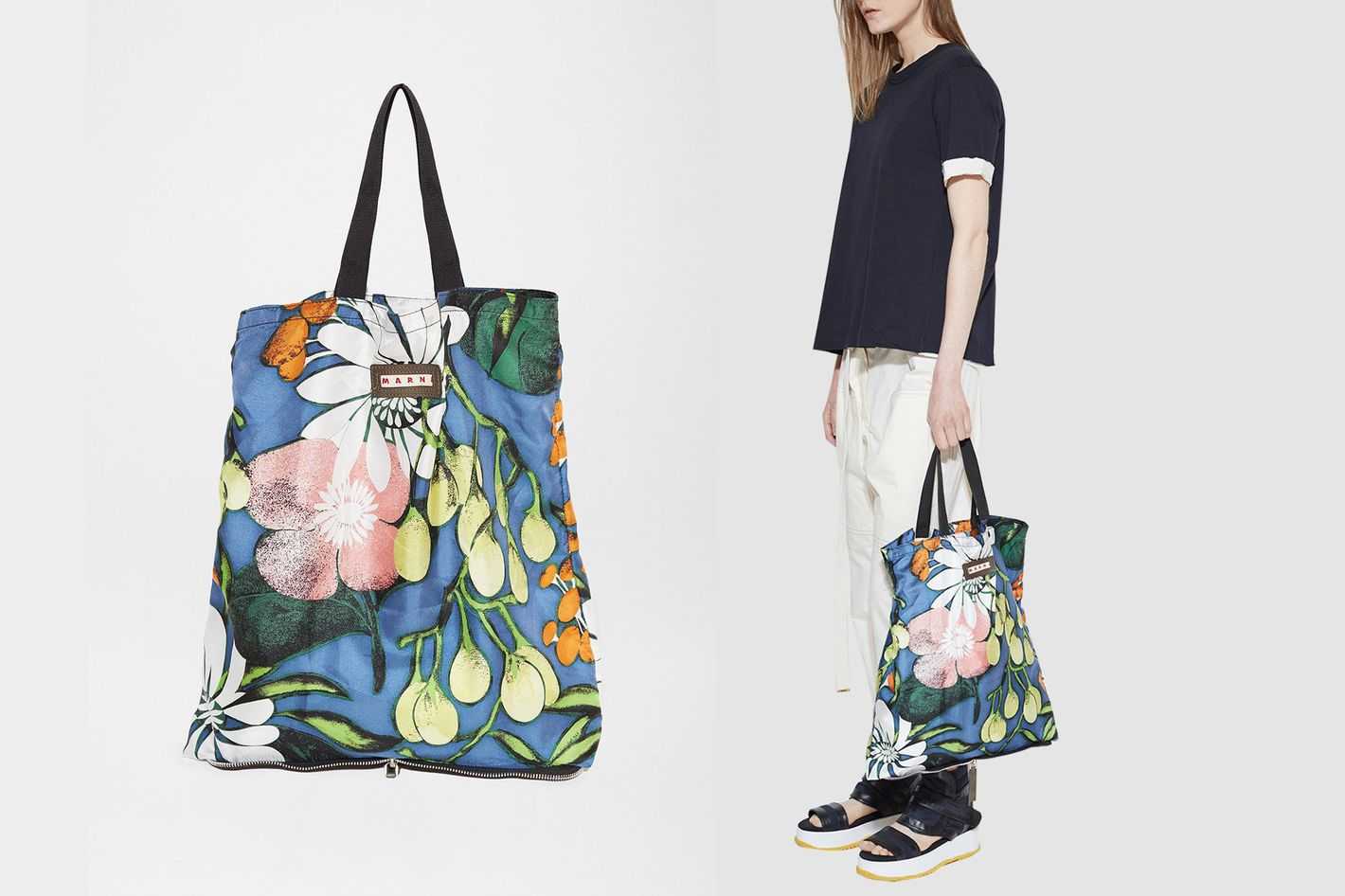 Marni Packable Shopping Bag