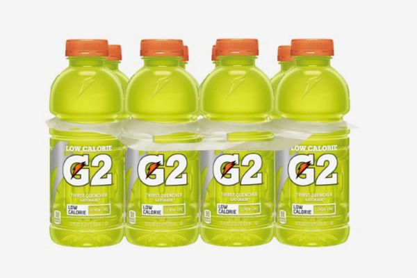 Gatorade G2 Thirst Quencher Low Calorie Sports Drink, Lemon-Lime, 8-Count
