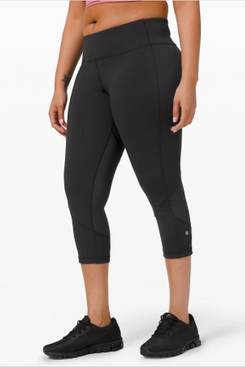 Lululemon Pace Rival Mid-Rise Crop 22 Inches