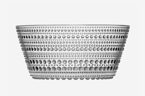 Iittala Kastehelmi Serving Bowl in Clear