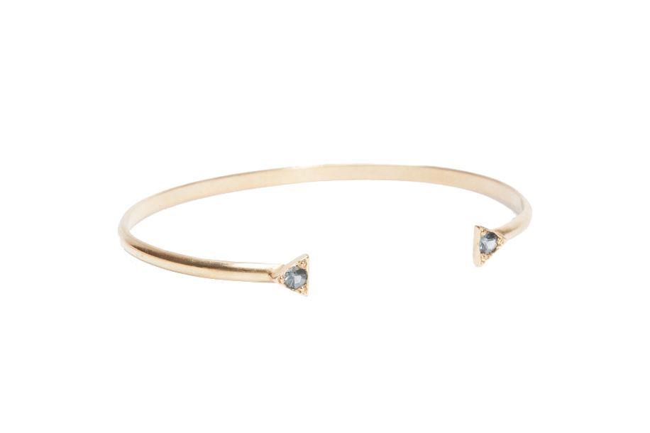 Double triangle bracelet