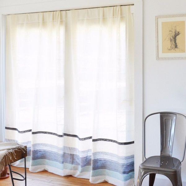 Bolé Road Textiles Afar Curtain - Mist