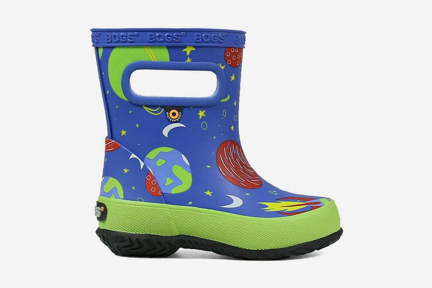 33d61cbd84daa4 Bogs Kids  Skipper Waterproof Rubber Rain Boot