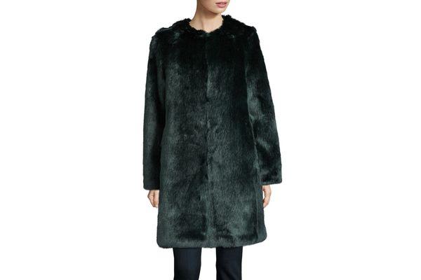 Calvin Klein Chubby Faux Fur Coat