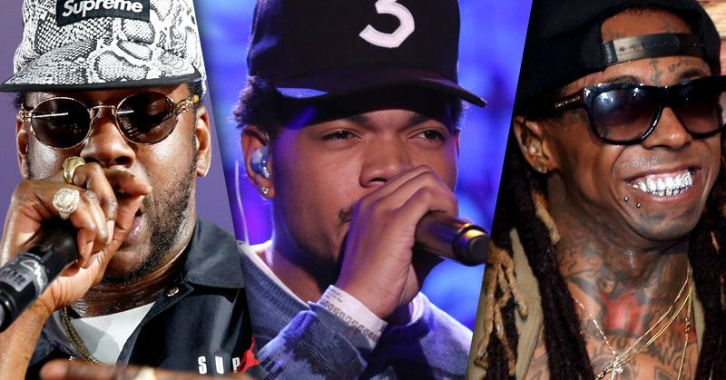 Chance the Rapper, Lil Wayne, and 2 Chainz Got Together to