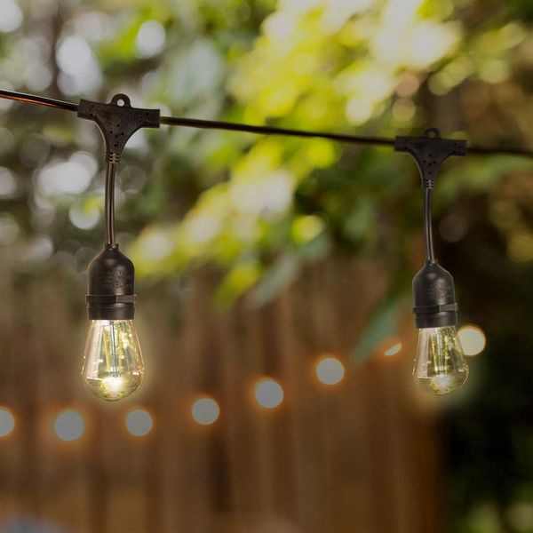 Sterno Home 48-Ft Vintage-Style Waterproof Outdoor LED String Lights
