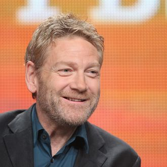 BEVERLY HILLS, CA - JULY 21: Actor and producer Kenneth Branagh speaks onstage at the Masterpiece Mystery!