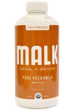 Malk Cold-Pressed Non-Dairy Maple Pecan Milk