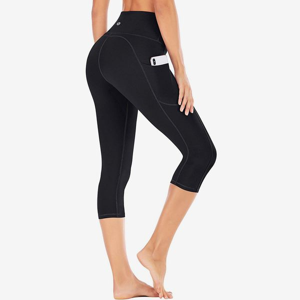 IUGA High Waist Yoga Capris with Pockets