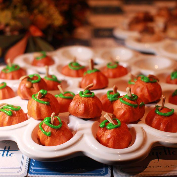 Lafayette's adorable pumpkin spice puffs.