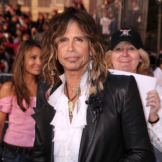 "ANAHEIM, CA - MAY 07:  Musician Steven Tyler arrives at premiere of Walt Disney Pictures' ""Pirates of the Caribbean: On Stranger Tides"" held at Disneyland on May 7, 2011 in Anaheim, California. Proceeds from the world premiere of Walt Disney Pictures' ""Pirates Of The Caribbean: On Stranger Tides"" will benefit the Boys & Girls Clubs of America.  (Photo by Frazer Harrison/Getty Images)"
