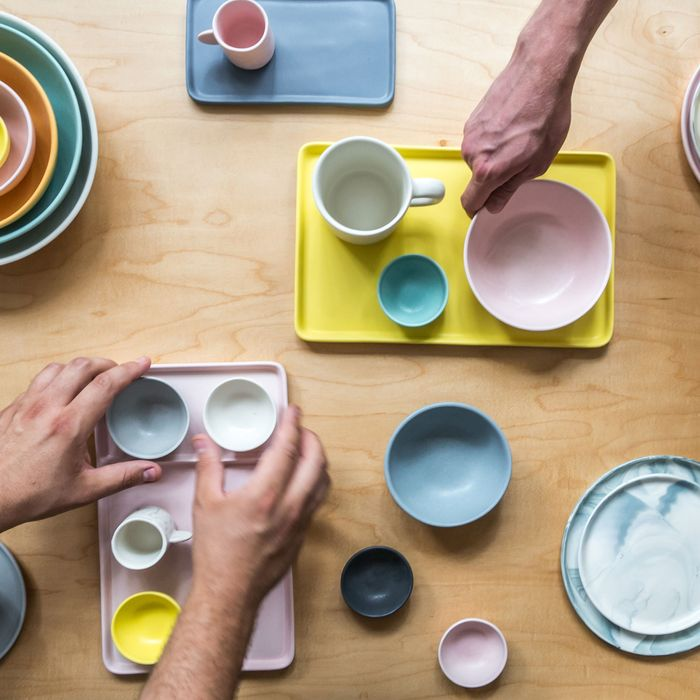 Gorgeous ceramics from Philadephia's Felt + Fat will be available.