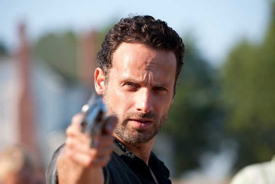 Rick Grimes (Andrew Lincoln) - The Walking Dead - Season 2, Episode 8 - Photo Credit: Gene Page/AMC