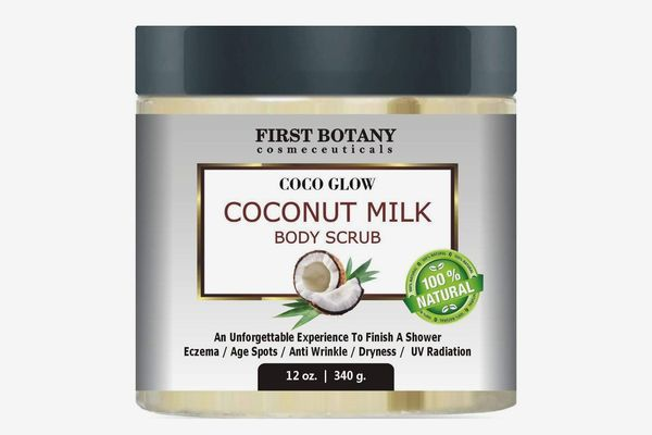 First Botany 100% Natural Coconut Milk Body Polish With Dead Sea Salt and Vitamin E