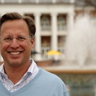 ASHLAND, VA - APRIL 26:  College economics professor and Republican candidate for Congress David Brat poses on the campus of Randolph-Macon College April 26, 2014 in Ashland, Virginia. Brat went on to a surprise defeat of incumbent House Majority Leader Eric Cantor in the June 10 primary.  (Photo by Jay Paul/Getty Images)