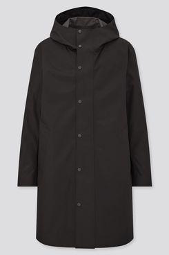 Uniqlo Light Blocktech Hooded Coat
