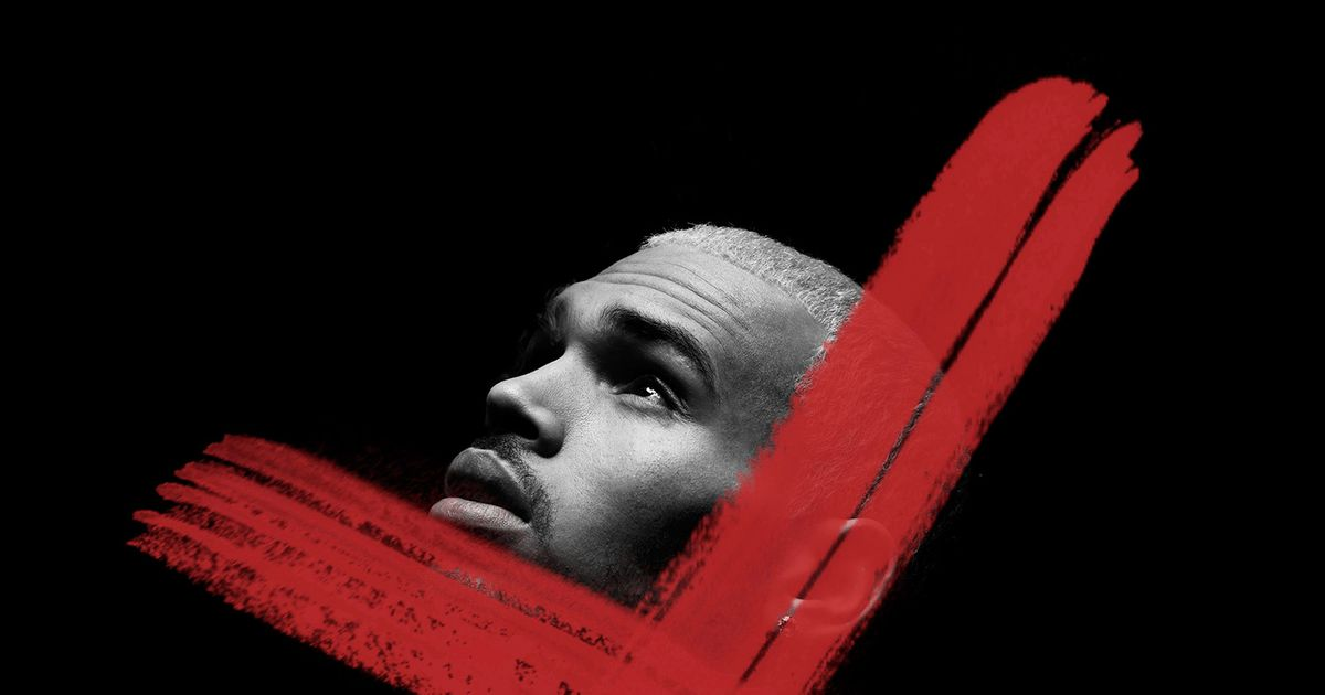 Album Review: Chris Brown's X Is a Joyless Slog -- Vulture X Album Cover Chris Brown