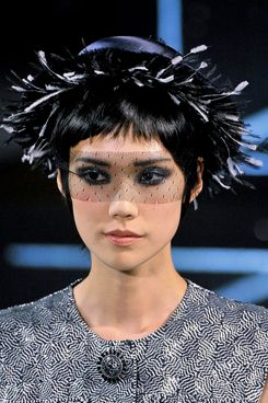 A Chanel look up close.