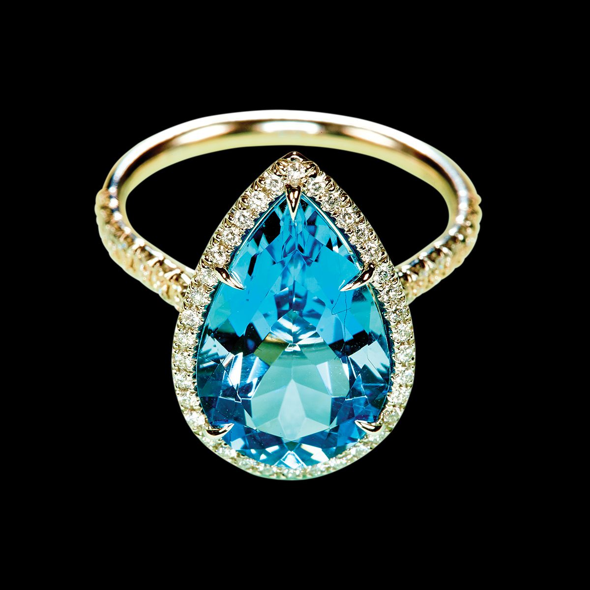 Tiffany & Co. - 16 Engagement Rings of a Different Color ...