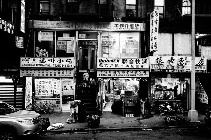 How Has Chinatown Stayed Chinatown?