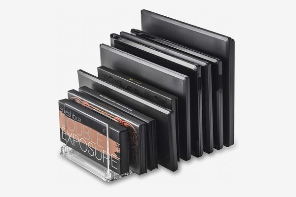 byAlegory Acrylic Makeup Eyeshadow Palette Organizer with Removable Dividers