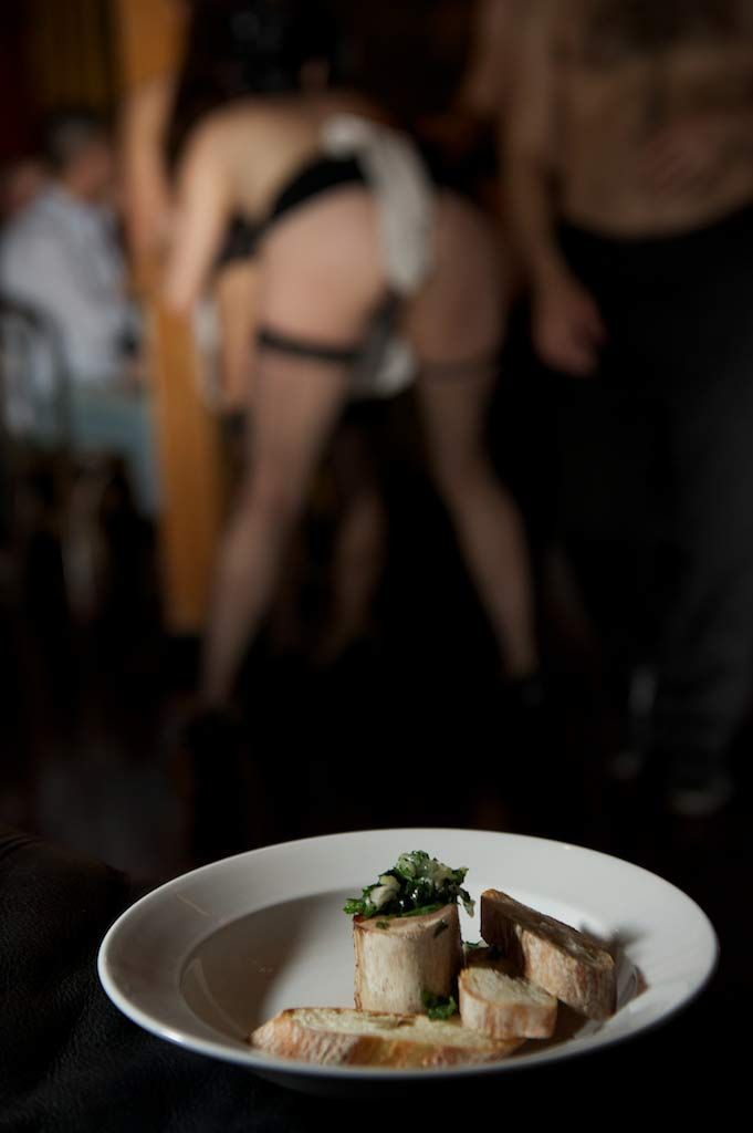 Steak chips dinner with lesbian show bratislava