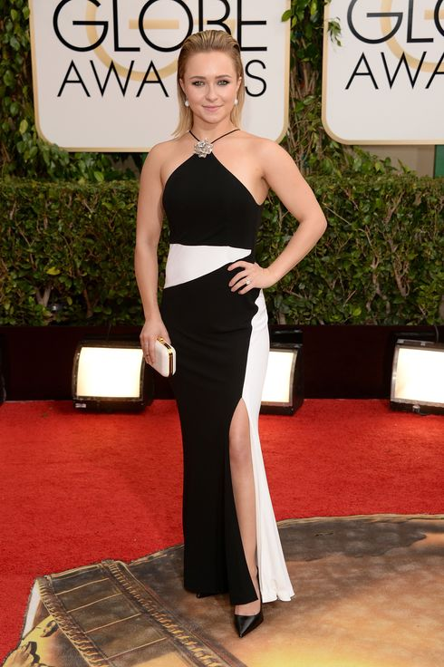 BEVERLY HILLS, CA - JANUARY 12:  Actress Hayden Panettiere attend the 71st Annual Golden Globe Awards held at The Beverly Hilton Hotel on January 12, 2014 in Beverly Hills, California.  (Photo by Jason Merritt/Getty Images)