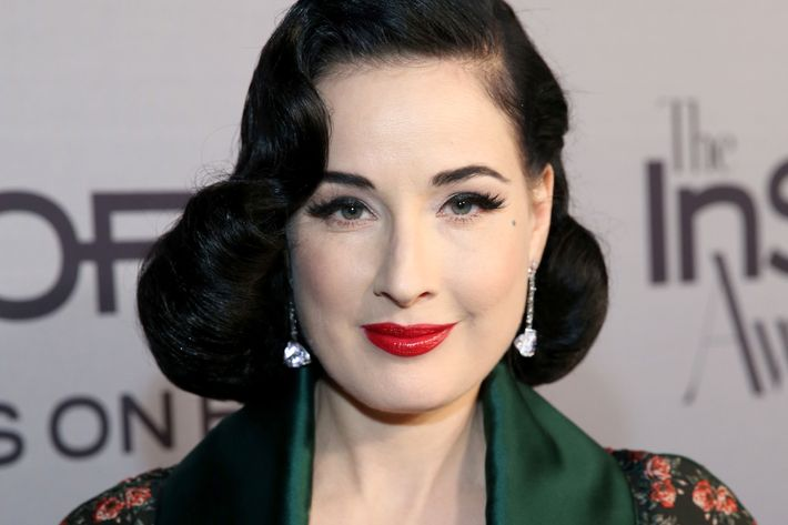Dita Von Teese on Body Makeup, CrossFit, and Perfect Brows