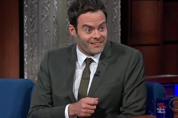 Bill Hader and Stephen Colbert Trade James Mason Impersonations