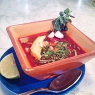 May we interest you in some pozole?