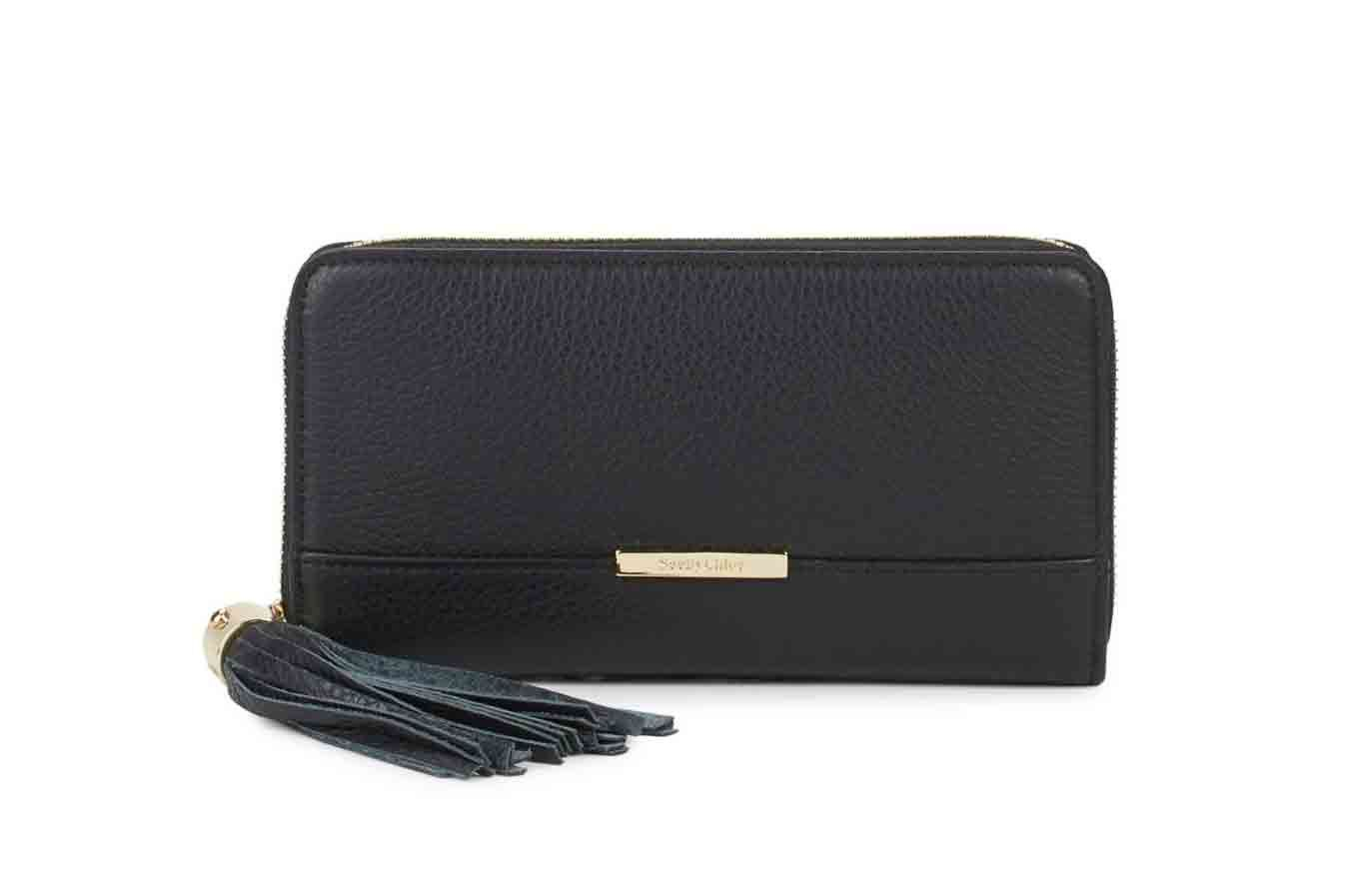 See by Chloé Leather Tassel Wallet