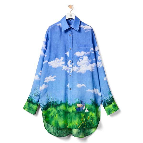 Loewe Landscape Totoro Oversize Shirt