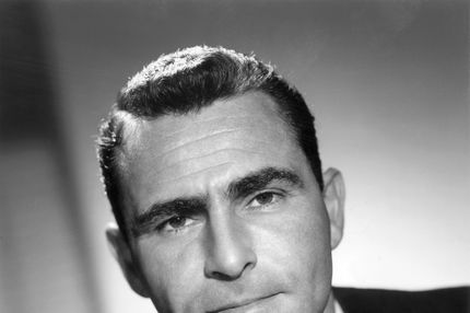 American writer, producer and narrator of science fiction TV series 'The Twilight Zone', Rod Serling (1924 - 1975), circa 1960. (Photo by Silver Screen Collection/Getty Images)