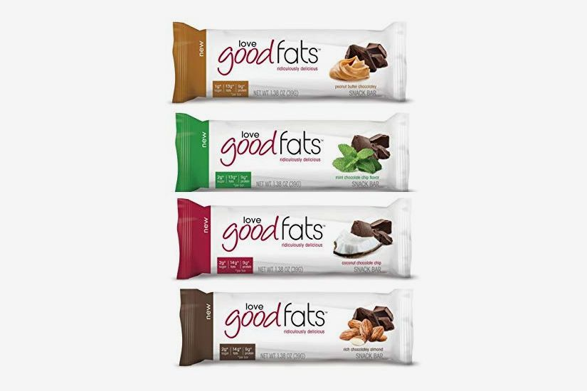Love Good Fats Bars, Variety Pack - Box of 12