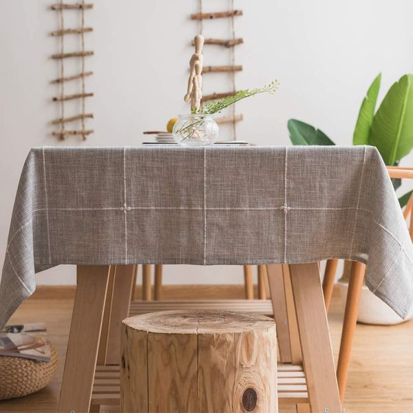 Plenmor Heavy Duty Cotton Linen Tablecloth