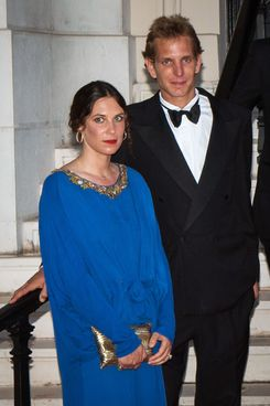 Tatiana Santo Domingo and Andrea Casiraghi.