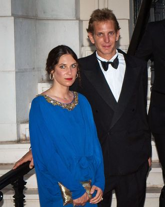 Tatiana Santo Domingo and Andrea Casiraghi.