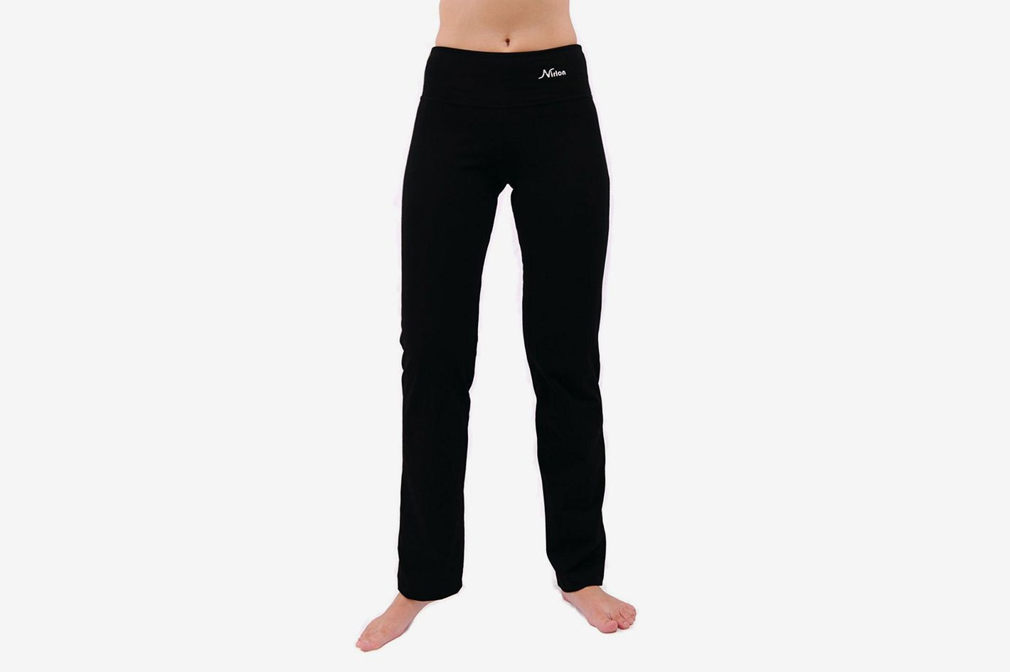 Yoga Pants for Women Black Leggings Straight Leg