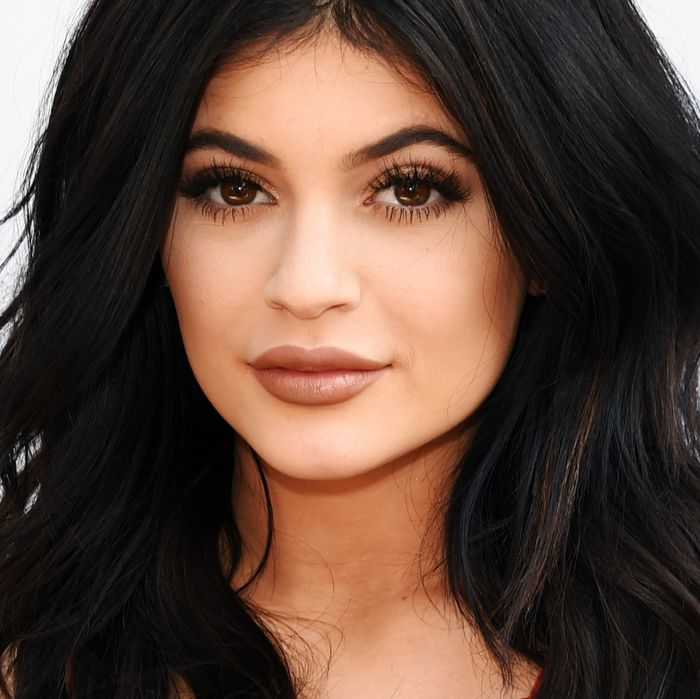 Kylie Jenner, queen of the internet's lipstick jungle.