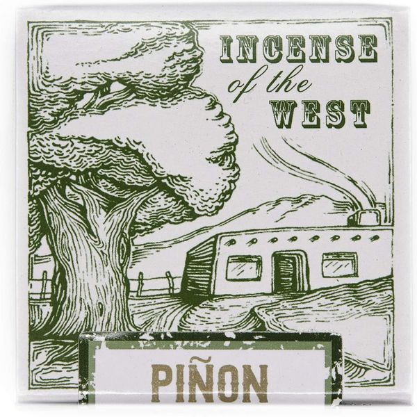 Incienso de Santa Fe — Piñon Natural Wood Incense Bricks, 40-Count