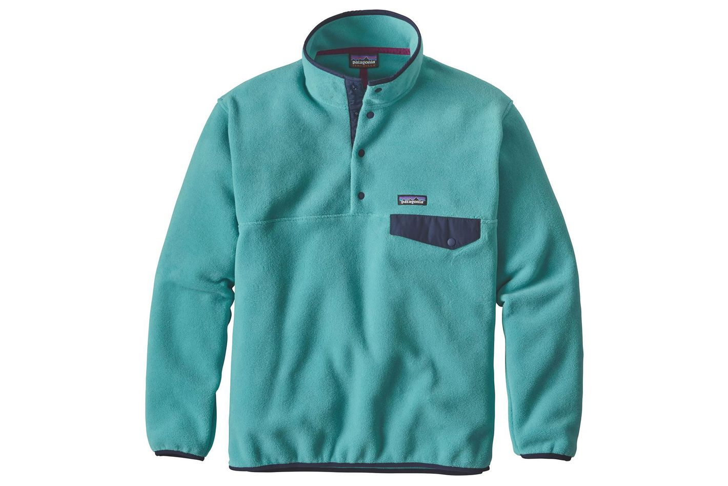 Patagonia Synchilla Snap-T Fleece Pullover in Mogul Blue