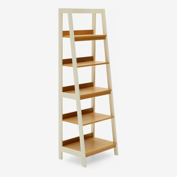 MoDRN Scandinavian Finna Ladder Bookcase