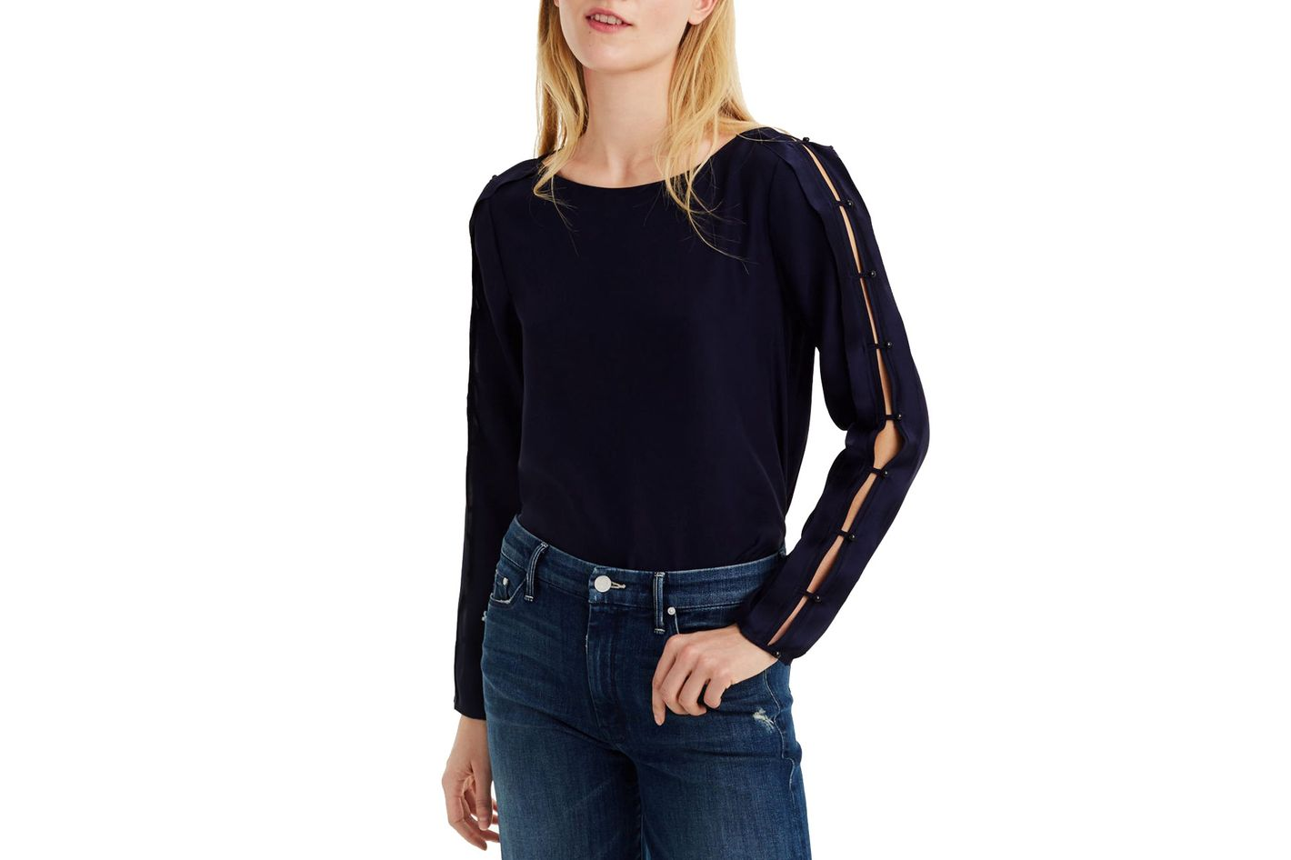Club Monaco Colema silk top