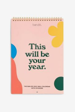 Ban.do Best Year Ever Wall Calendar 2021