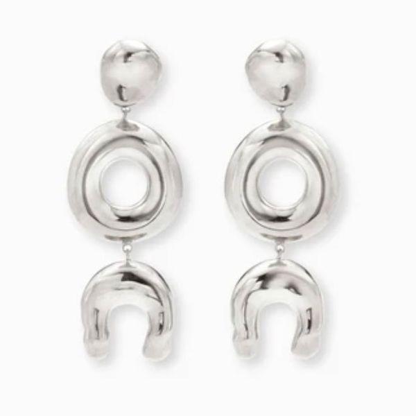 Agmes Long Wishbone Earrings