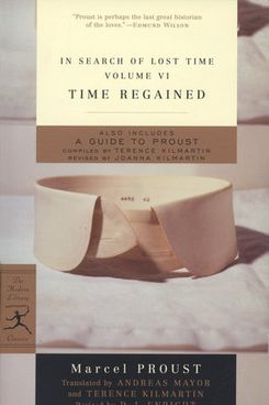 Time Regained, by Marcel Proust