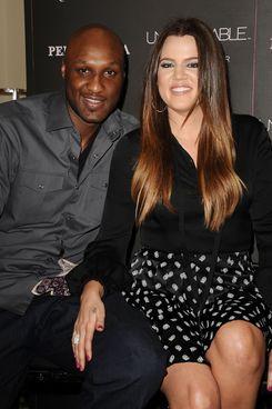 Lamar and Khloé.